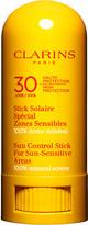 Clarins Sun Control Stick for sun-sensitive areas UVB/UVA 30 8ml