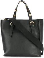 L'Autre Chose structured square tote bag