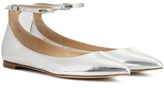 Gianvito Rossi Patent Leather Ballerinas