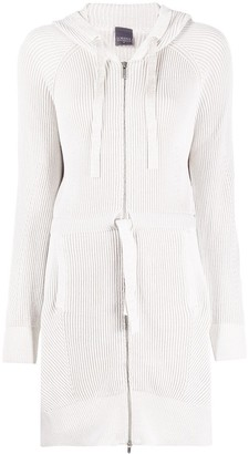 Lorena Antoniazzi Long-Line Hooded Cardigan