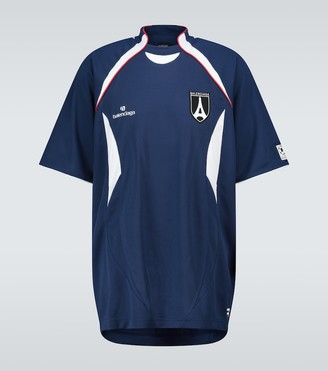 Balenciaga Short-sleeved soccer T-shirt