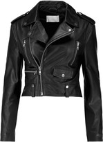 W118 by Walter Baker Mindy leather biker jacket
