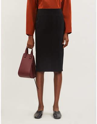 Joseph Rick comfort wool-blend skirt