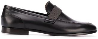 Brunello Cucinelli Elasticated Strap Loafers