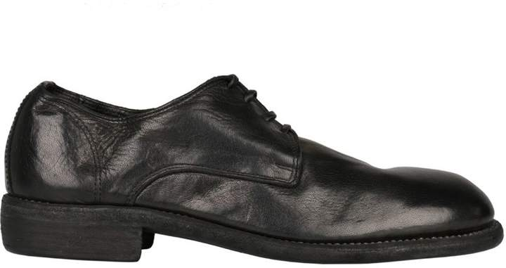 Guidi 992 Leather Derby Shoes