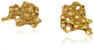 Karolina Bik Jewellery Pome Earrings Gold