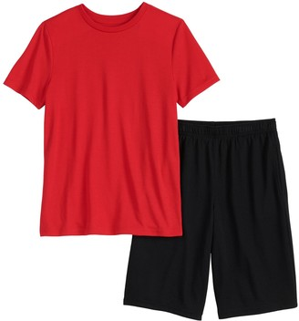 Urban Pipeline Boys 4-20 & Husky Tee & Shorts Sleep Pajama Set
