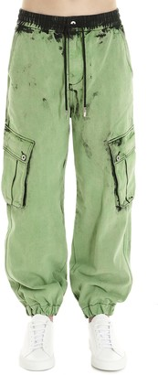 Feng Chen Wang acid Wash Jeans