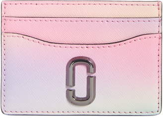 Marc Jacobs THE The Snapshot Airbrush Saffiano Leather Card Case