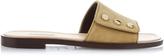 Balenciaga Stud-embellished suede sandals