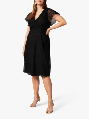 Studio 8 Esmae Geo Lace Dress, Black