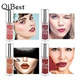 12 Colors Lip Glosses Professional Girls Make-up Lipstick Long-lasting for Women by TOPUNDER E