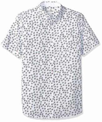 Ben Sherman Men's SS SCATTRD Scratch Shirt