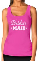 TeeStars - Bride's MAID - Bridesmaid Funny Bachelorette Party Women Tank Top