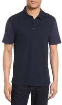 Vince Men's Mix Stitch Polo