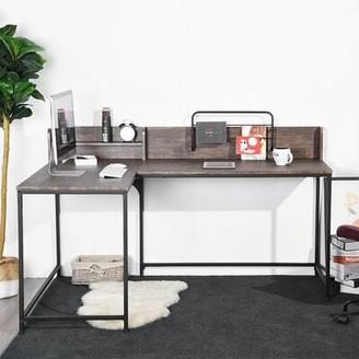 17 Stories Talhah L-Shape Desk