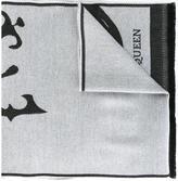 Alexander McQueen king skull scarf