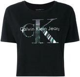 Calvin Klein Jeans logo T-shirt - women - Cotton - M