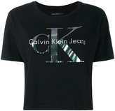 Calvin Klein Jeans logo T-shirt - women - Cotton - XS