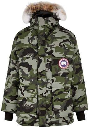 Canada Goose Expedition camouflage-print Arctic-Tech parka