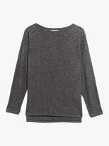 Oasis Embellished Jumper, Dark Grey