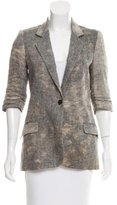 Elizabeth and James Lightweight Linen Blazer
