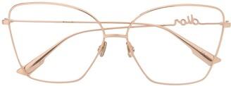Christian Dior Signature oversized glasses