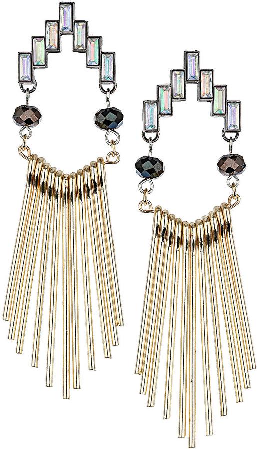 Topshop Stick Drop Earrings