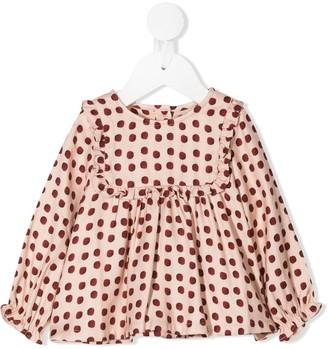 Marie Chantal Fedora printed blouse