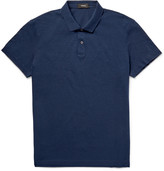 Theory Sandhurst Slim-Fit Cotton-Piqué Polo Shirt