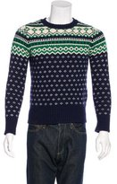 Gant Intarsia Crew Neck Sweater