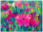 United Artworks Forest Blooms Canvas
