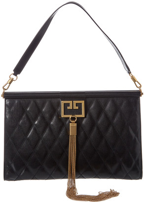 Givenchy Gem Large Quilted Leather Shoulder Bag