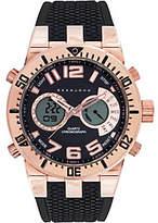 Sean John Men's Analog Digital Rosetone Multi-Function Watch