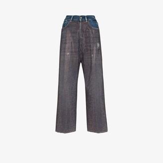 Golden Goose Breezy rhinestone embellished jeans