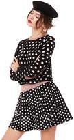 Juicy Couture Polka Dot Pullover Sweater