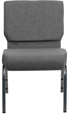 Ebern Designs MacArthur Guest Chair Seat Color: Gray