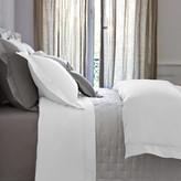 Yves Delorme Triomphe Sateen Duvet Cover - White - Super King