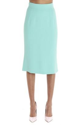 Dolce & Gabbana High Waist Flared Skirt