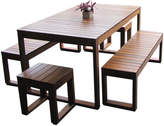 Exemplar 5 Piece Outdoor Table Set Variant: 10 Seater