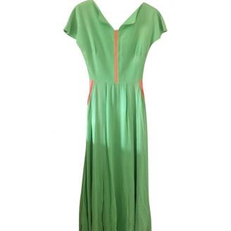 Roksanda Ilincic Green Silk Dress for Women