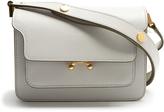 Marni Trunk mini saffiano-leather shoulder bag