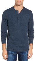 Faherty Double Knit Henley