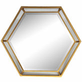 Asstd National Brand Hexagon Wall Mirror