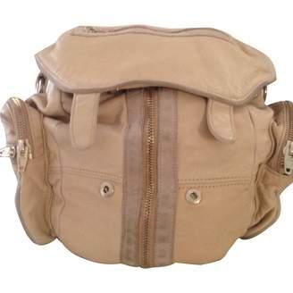 Alexander Wang Beige Leather Backpacks