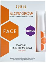 GiGi Slow Grow Two Step Facial Hair Removal System