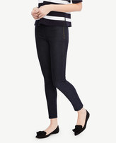 Ann Taylor Petite Side Zip Denim Pants