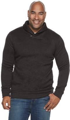 Sonoma Goods For Life Big & Tall SONOMA Goods for Life Supersoft Shawl Collar Sweater Fleece