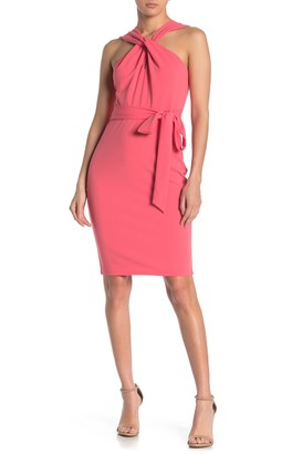 Bebe Sleeveless Halter Dress