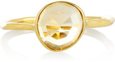 Monica Vinader Siren set of three gold-plated stacking rings